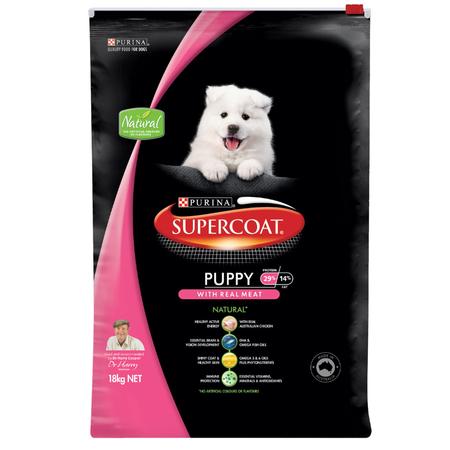 Supercoat Puppy Chicken Dry Puppy Food  18kg