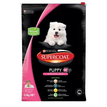 Supercoat Puppy Chicken Dry Puppy Food  3.5kg