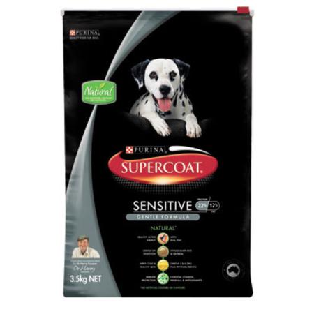 Supercoat Sensitive - FIsh 3.5kg - Dry Dog Food