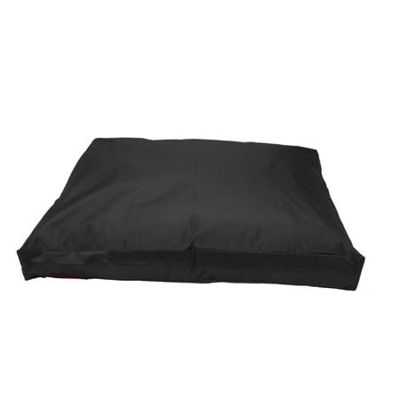 T&S Enduro Pet Cushion Dog Bed Black Medium (115x85x26cm)