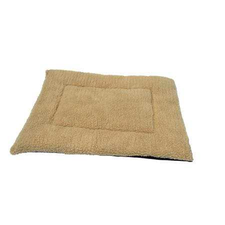 T&S Fluffy Pet Bedding Dog Bed Beige Large (90x70cm)