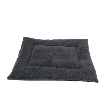 T&S Fluffy Pet Bedding Dog Bed Grey Small (57x45cm)