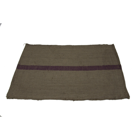 T&S Hessian Pet Mat Dog Bed Brown Large (110x80cm)
