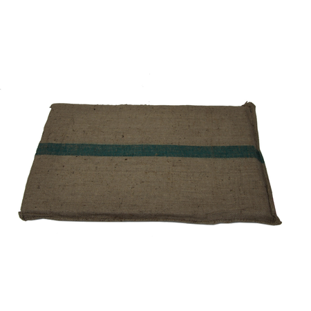T&S Hessian Pet Mat Dog Bed Brown Medium (100x70cm)