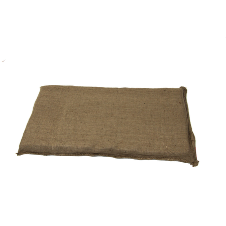 T&S Hessian Pet Mat Dog Bed Brown Small (95x53cm)