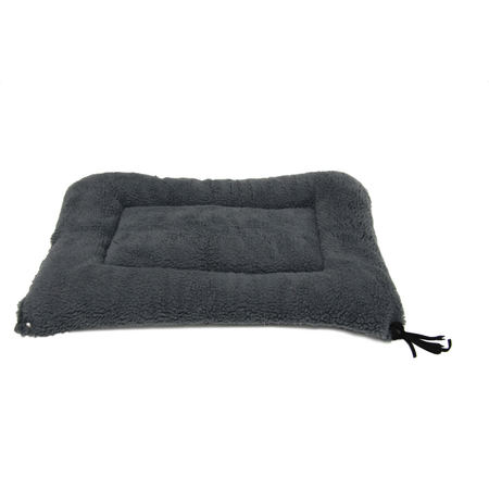 T&S Raised Bed Mat Dog Bed Grey Large (100x68cm)