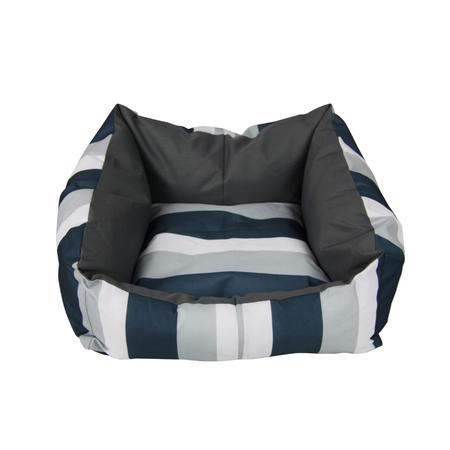 T&S iSleep Ocean Blue Square Dog Bed Blue Medium (65x85cm)