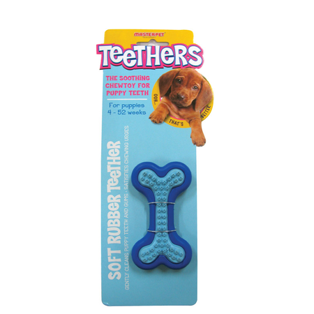 Teethers Dental Massager Bone Dog Chew Toy Small
