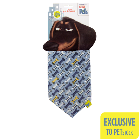 The Secret Life Of Pets Buddy Dog Bandana (Small-Medium)