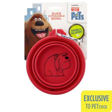 The Secret Life Of Pets Duke Expandable Bowl