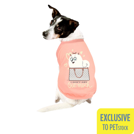 The Secret Life Of Pets Gidget Dog Muscle T-shirt (Small)