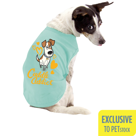 The Secret Life Of Pets Max Dog Muscle T-shirt (Small)