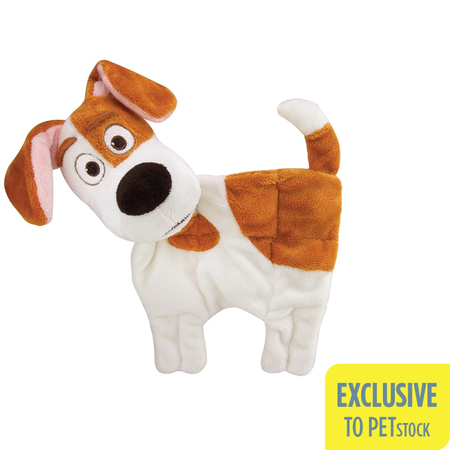 The Secret Life Of Pets Puppy Plush Squeaker Mat - Max