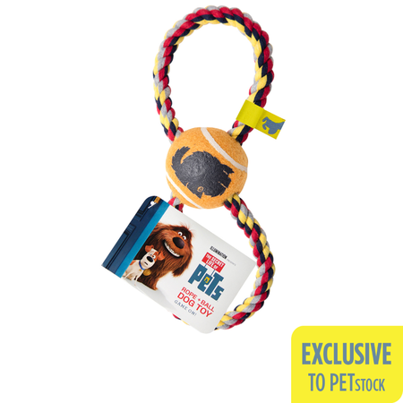The Secret Life Of Pets Rope & Ball Dog Toy