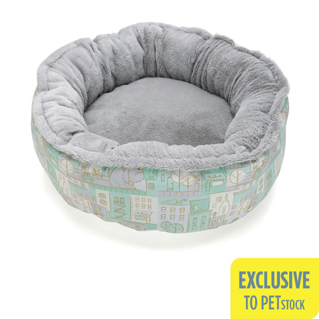 The Secret Life Of Pets Round Plush Bed (Medium-Large)