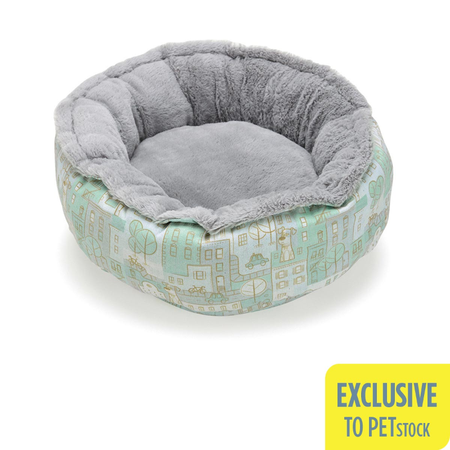 The Secret Life Of Pets Round Plush Bed (Small-Medium)