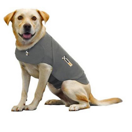 Thundershirt Anti Anxiety Shirt for Dogs Grey Large (Weight 18.5-29.5cm)