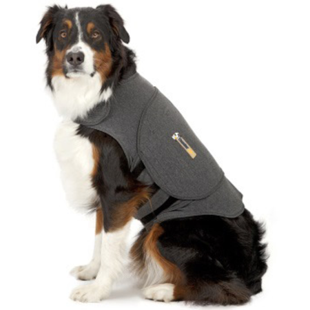 Thundershirt Anti Anxiety Shirt for Dogs Grey X Large (Weight 29.5-50kg)