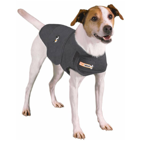 Thundershirt Anti Anxiety Shirt for Dogs Grey X Small (Weight 3.5-6.5kg)