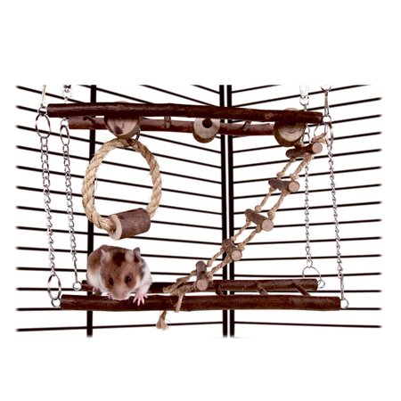Trixie Natwood Rodent Suspension Bridge 2 Sty 27x17x7cm