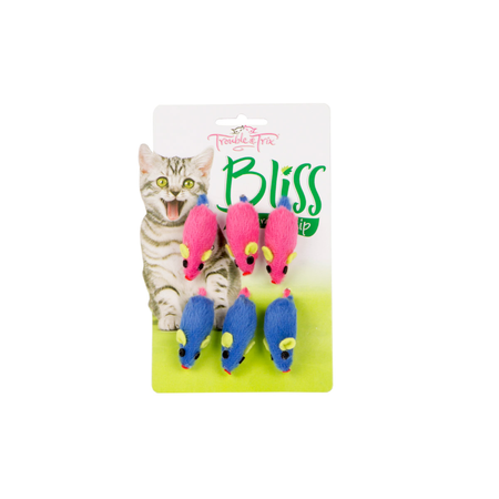 Trouble & Trix Bliss Mice 6pk
