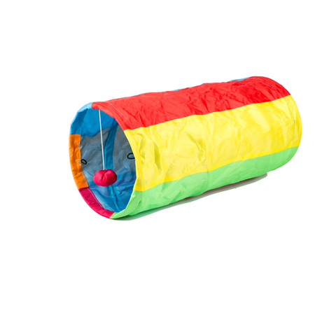 Trouble and Trix Bliss Cat Tunnel Multi 50cm
