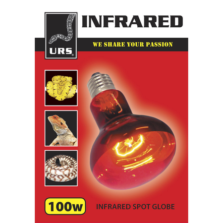 URS Infrared Spot Globe  100 Watt