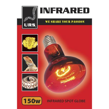 URS Infrared Spot Globe  150 Watt