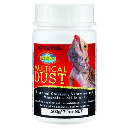 Vetafarm Herpavet Multical Dust 200g