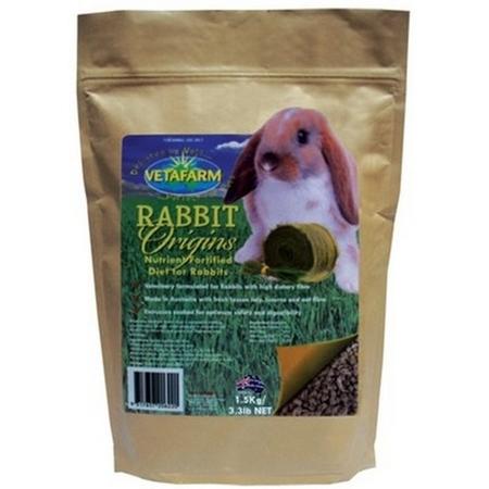 Vetafarm - Rabbit Origins - Pellet Food for Rabbits