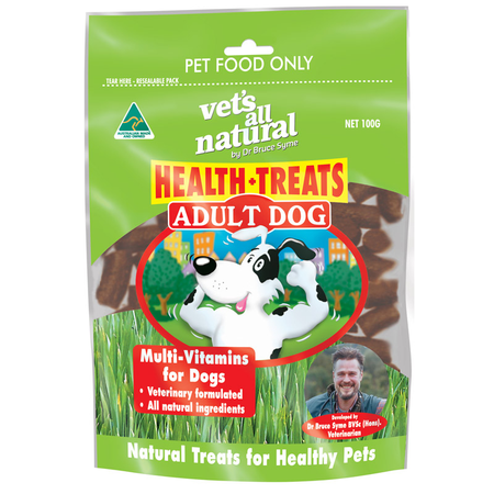 Vets All Natural Health Treat Adult - 100g