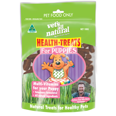 Vets All Natural Health Treat Puppy - 100g