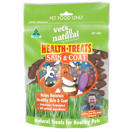 Vets All Natural Health Treat for Skin/Coat - 100g