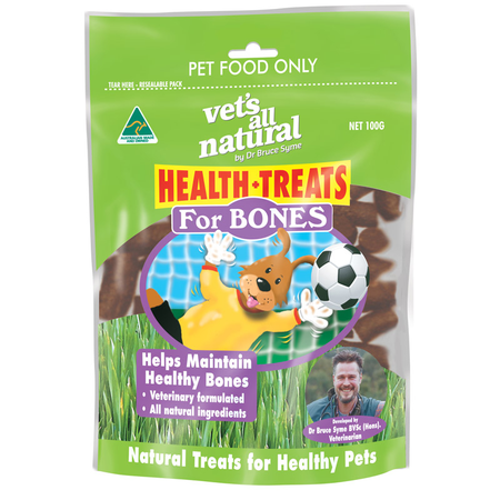 Vets All Natural Health Treats For Bones - 100g