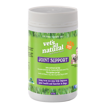 Vets All Natural Joint Support Powder  500gm
