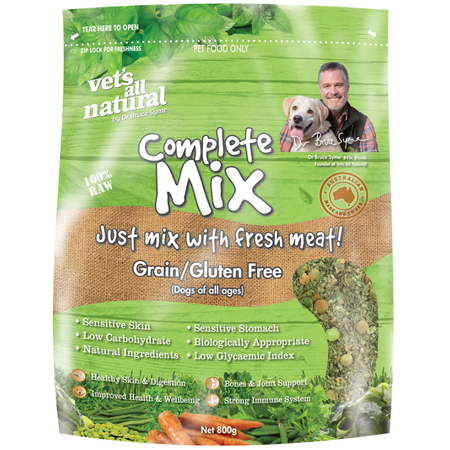 Vets All Natural - Complete Mix Grain & Gluten Free - 800g