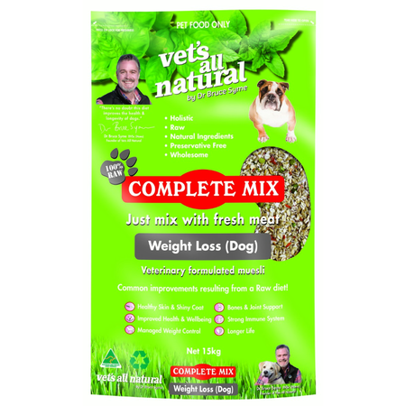 Vets All Natural - Complete Mix - Weight Loss for Dogs