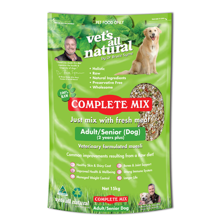 Vets All Natural - Complete Mix for Adult and Senior Dogs