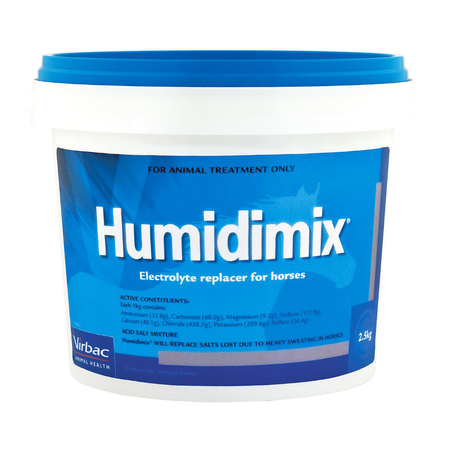 Virbac Humidimix Electrolyte Supplement for Horses  2.5kg