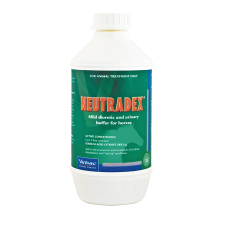 Virbac Neutradex Urinary Buffer for Horses  1L