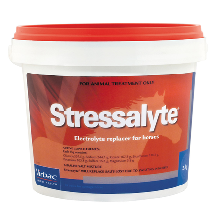 Virbac Stressalyte Electrolyte Replacer for Horses  2.5kg