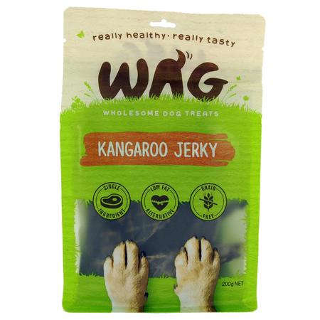 WAG Kangaroo Jerky 200g