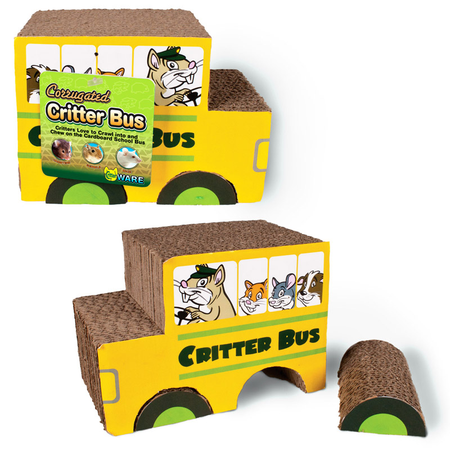 Ware Corrugated Critter Bus