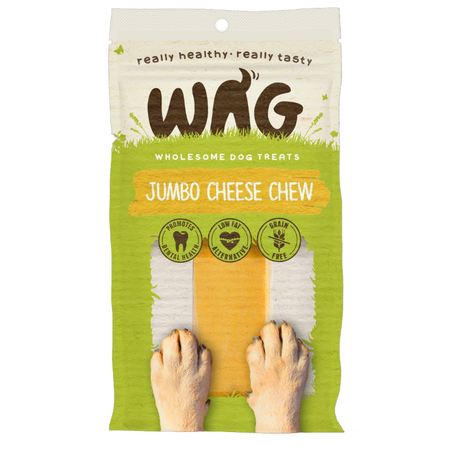 Watch & Grow Dog Treat Cheese Chew Jumbo 180g