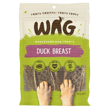 Watch & Grow Duck Jerky - 200g