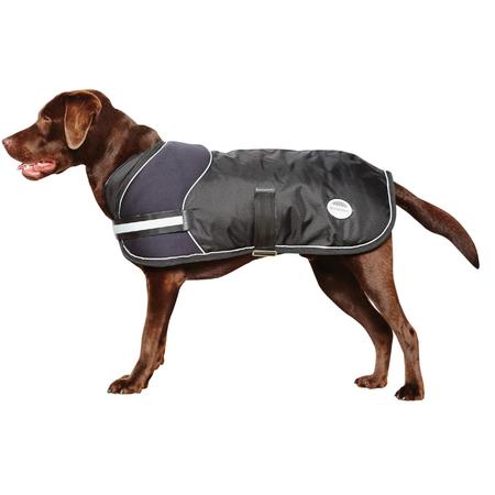 Weatherbeeta Arctic Freestyle Water Proof Dog Coat Black 80cm