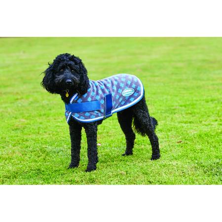 Weatherbeeta Fleece Swiss Cross Dog Coat 70cm