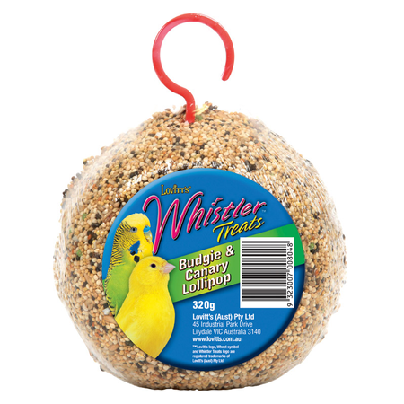 Whistler Budgie & Canary Lollipop - 320gm