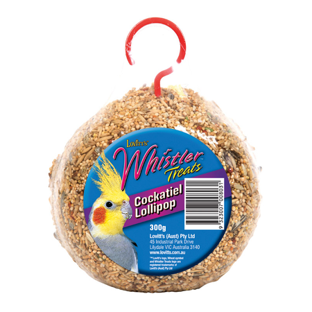 Whistler Cockatiel Lollipop - 320gm