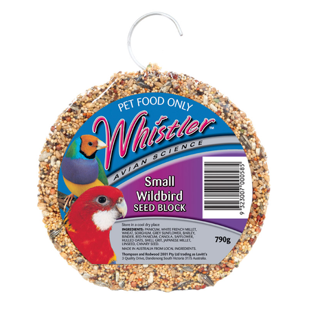 Whistler Small Wild Bird Seed Block - 790gm